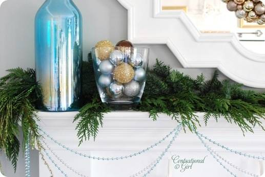 cg holiday mantel left side