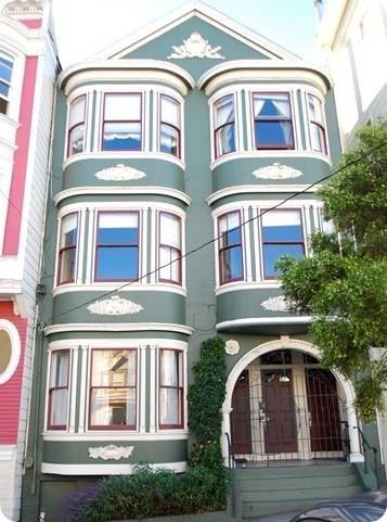 green san francisco victorian