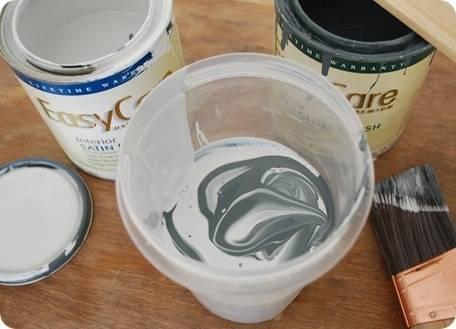 mix paint