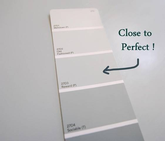 A perfect gray blue centsational girl Best light gray paint color