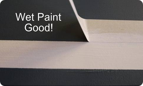 wet paint good