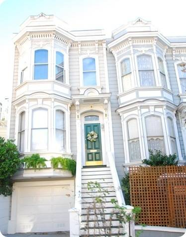 white san francisco home