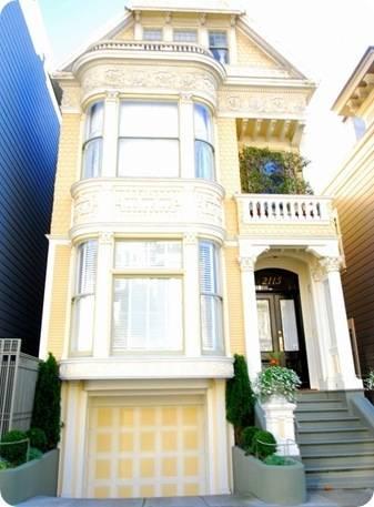 yellow san francisco house