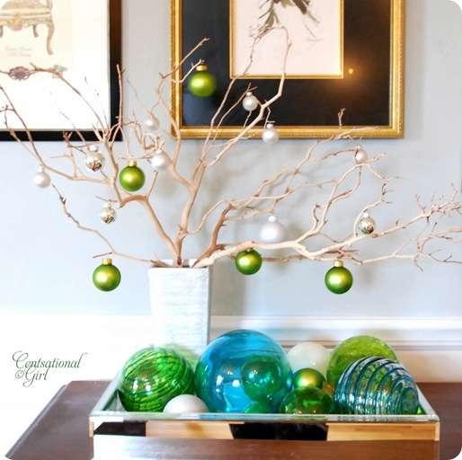 cg silver vase manzanita branches