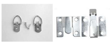 d rings and interlocking brackets