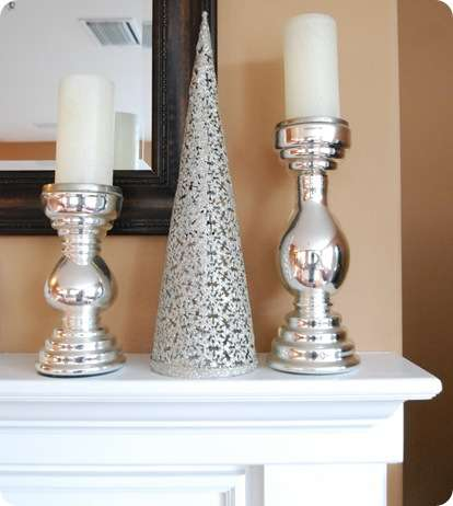 simple silver decor