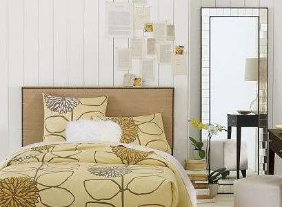 upholstered headboard with nailhead trim revisited centsational style. Black Bedroom Furniture Sets. Home Design Ideas
