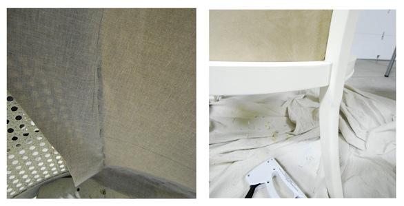 back fabric