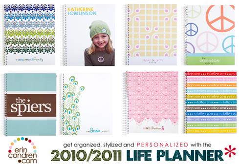 planner 2010 Erin Condren