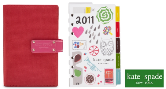 Here's my list of favorite planners for 2011 :