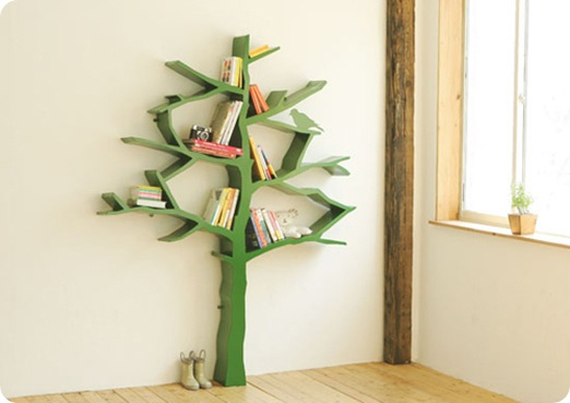 tree bookshelf via design dazzle