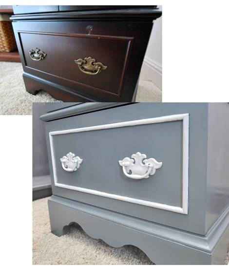 cabinet before and after lower