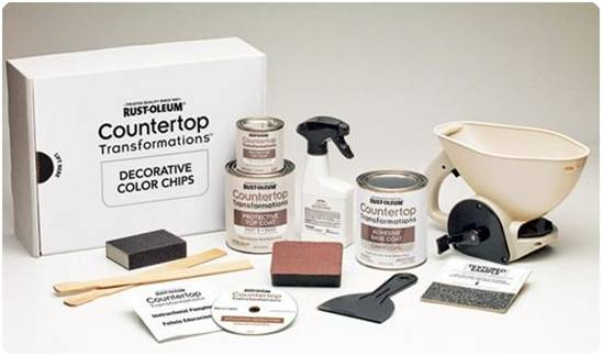 Rustoleum Countertop Paint Application : Another Laminate Countertop Solution Centsational Girl