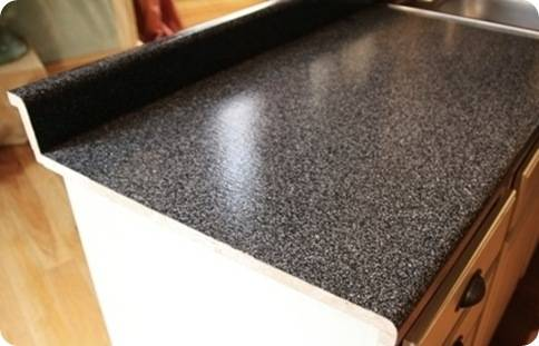 finished countertop