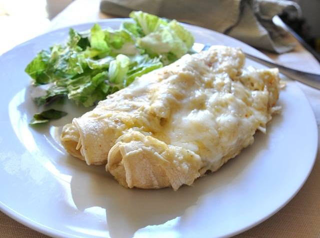 Sour Cream Enchiladas | Centsational Girl