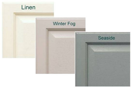 linen winter fog seaside
