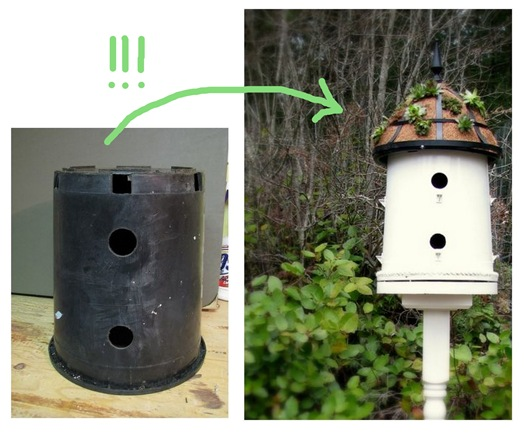 bucket to birdhouse 2
