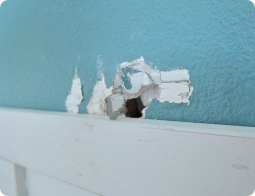 hole in sheetrock