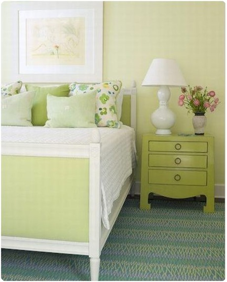 phoebe howard green bedroom
