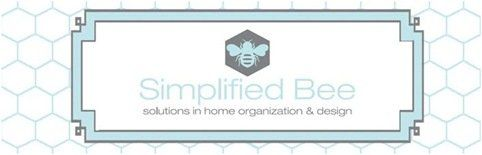 simplified bee banner