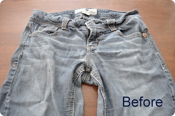 before jeans