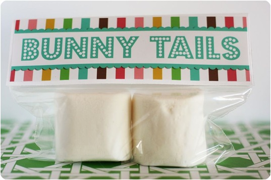 bunny tails marshmallow printable