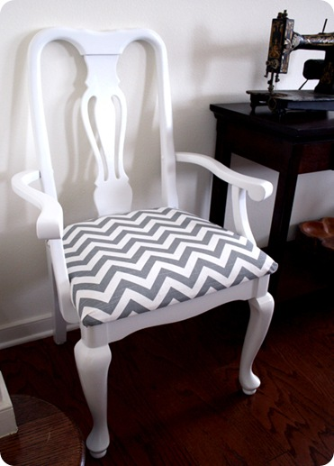 chevron chairs