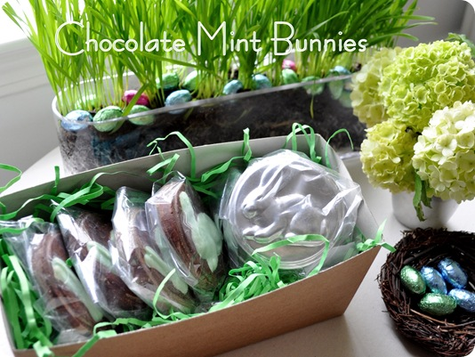 chocolate mint bunnies