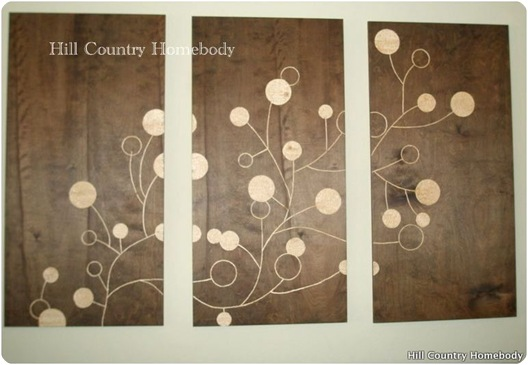 large scale wall art hill country homebody