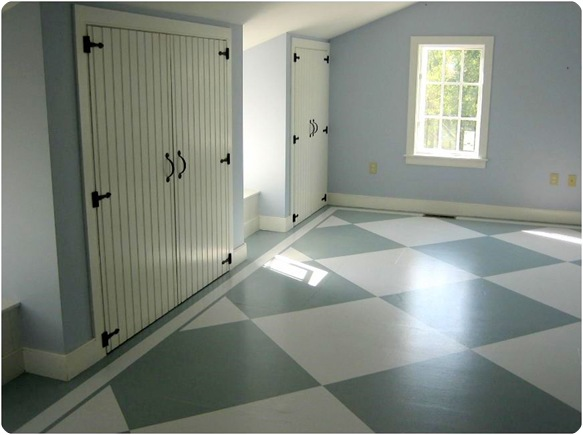 painted subfloors