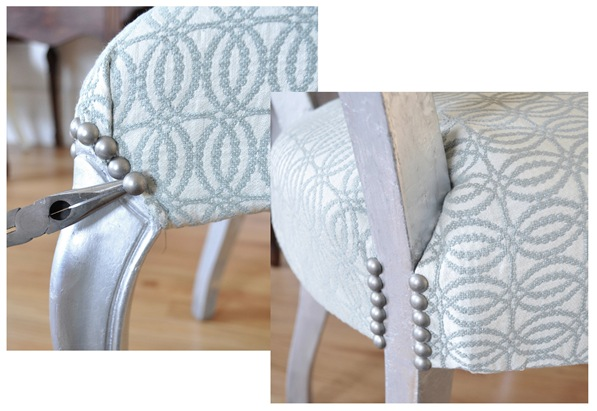pewter nailhead trim