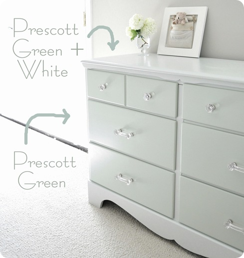 Two Tone Treasure How To Paint Furniture Centsational Girl