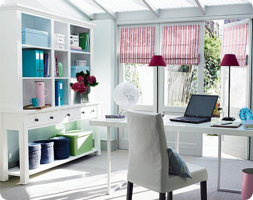 white office via myidealhome