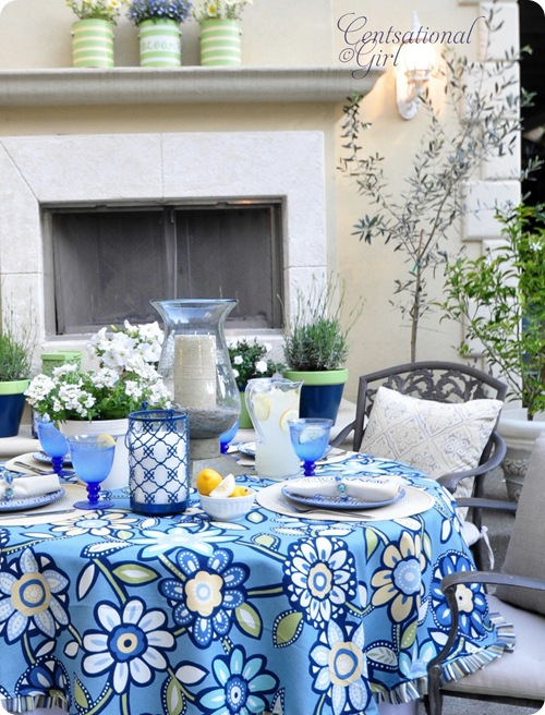 cg outdoor dining table