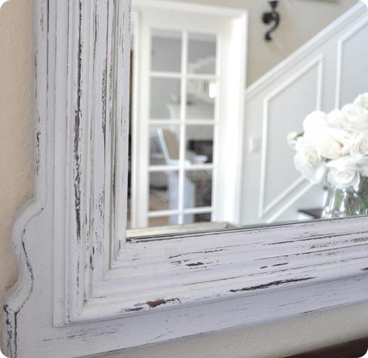 Chalk Paint Mirror Centsational Girl