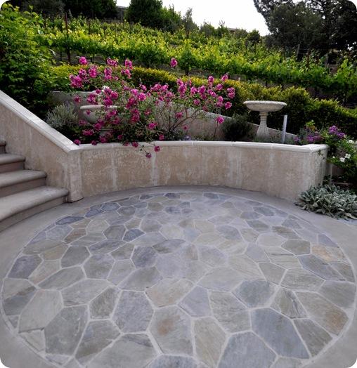 kates circular patio
