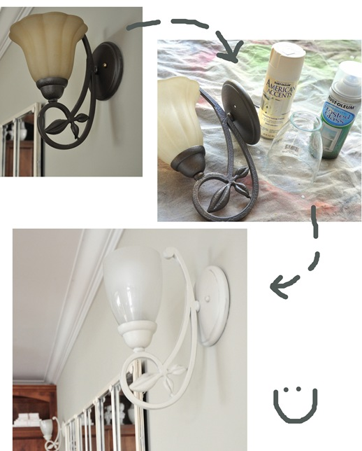 sconce step by step