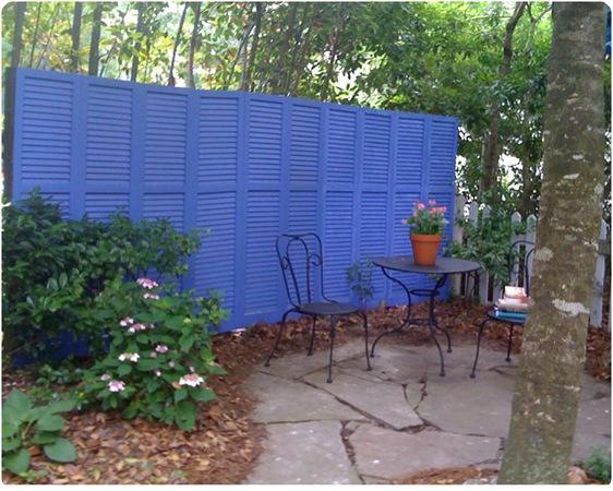 shutter fence