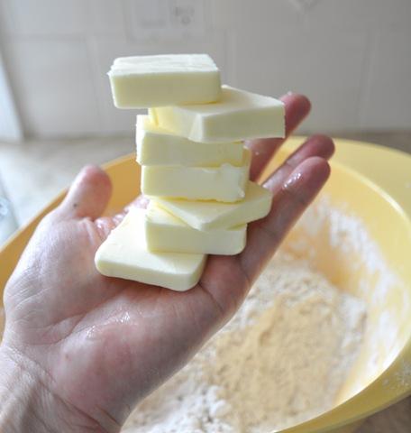 Butter hands