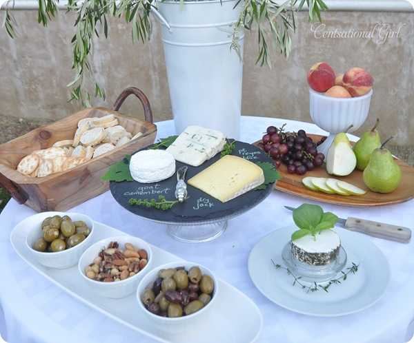 cheese table essentials cg