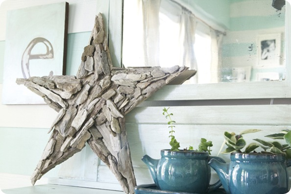 driftwood star the handmade home