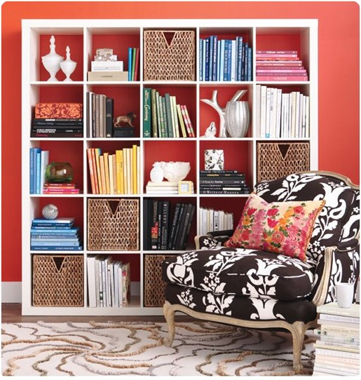 ikea bookcase style at home