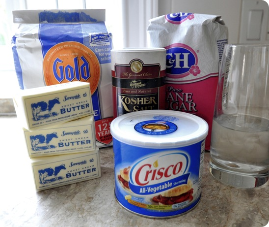 ingredients for pie crust