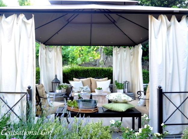 Our Patio Cabana Centsational Style