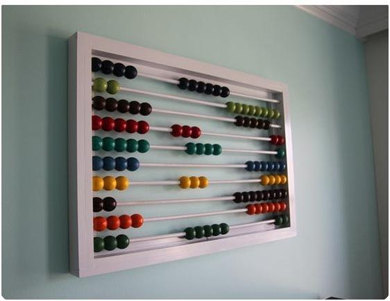 oversized abacus