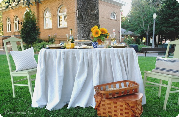sonoma picnic table for two