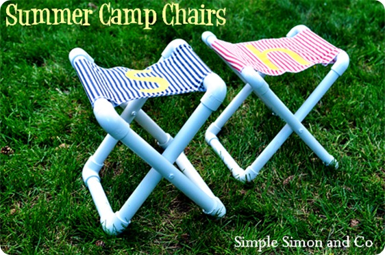 summer camp chairs via ucreate