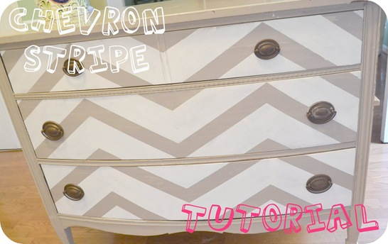 chevron stripe tutorial
