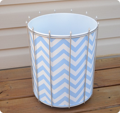 chevron trash can infarrantly