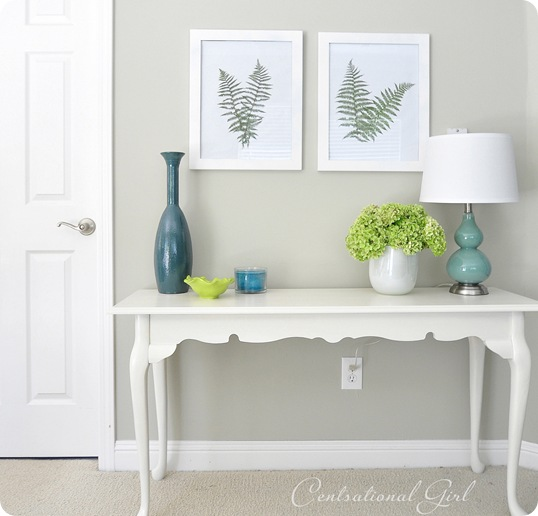 fern art on wall cg